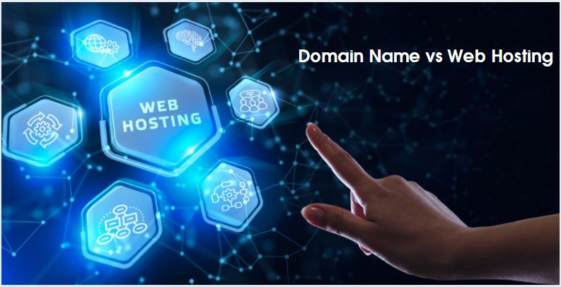 Domain Name vs Web Hosting: What's The Difference?