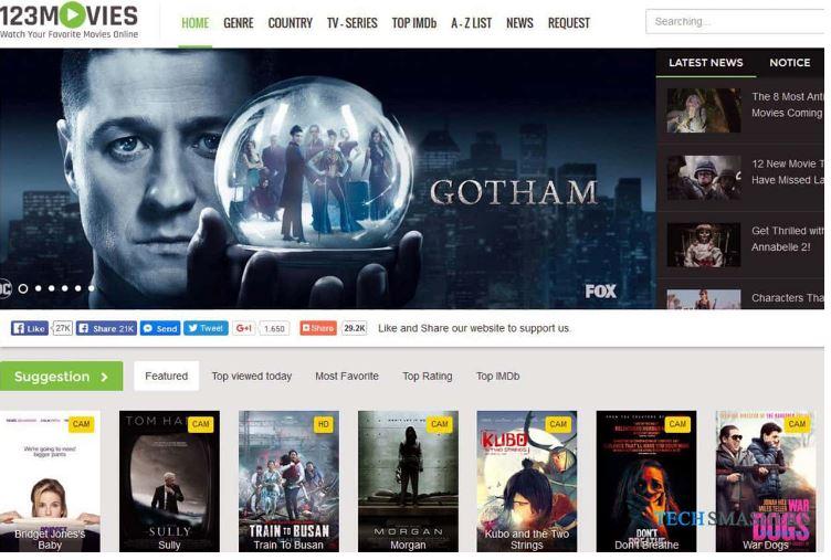 123 Movies Online – Top 10 Free Movie Sites, 123MoviesOnline