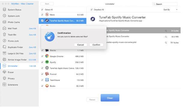 iMyMac Mac Cleaner