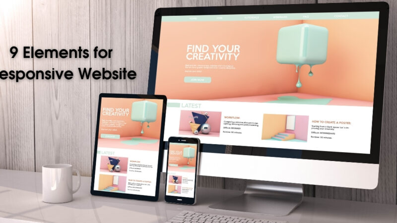 9 Elements for Responsive Website