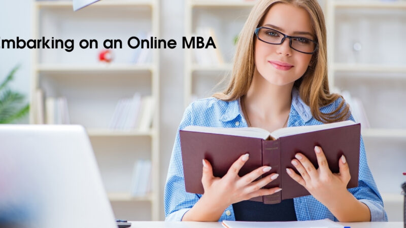 5 Questions You Should Ask Yourself Before Embarking on an Online MBA