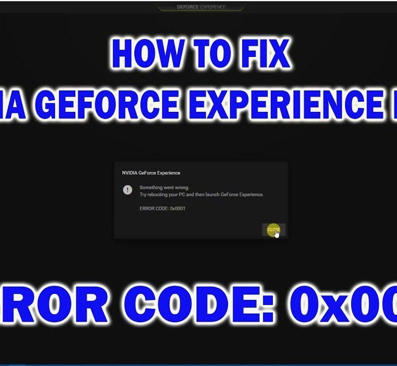 Error Code 0x0001