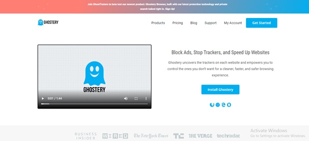 Ghostery Chrome Extensions