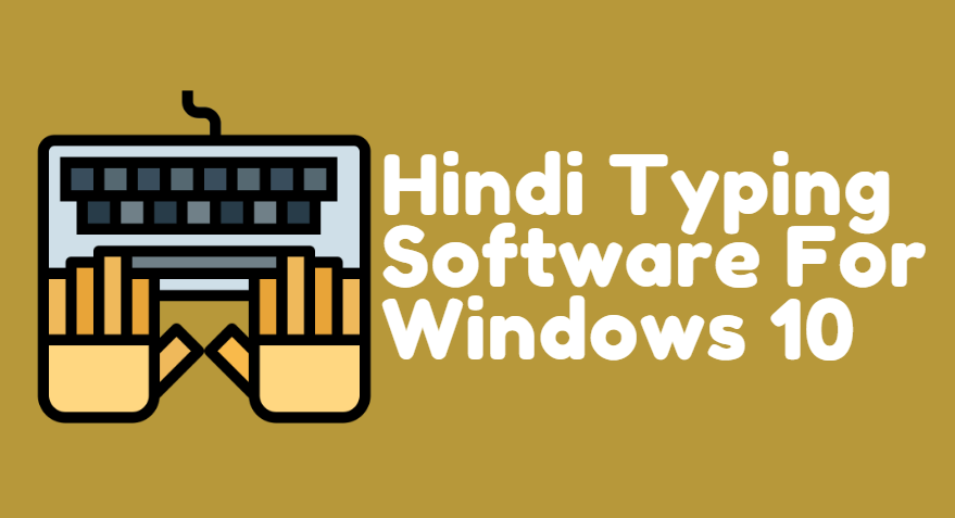 How to change Hindi typing software in windows10