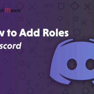 Add Roles in Discord