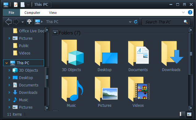 How to Change File Explorer to Dark-Mode