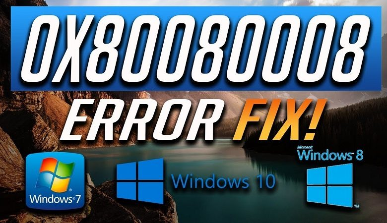 error 0x80080008