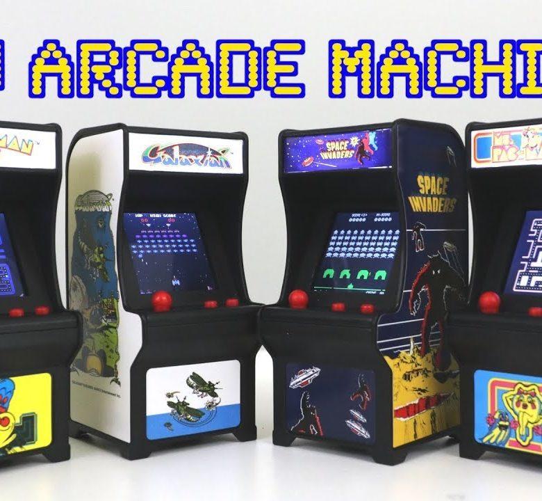 Mini arcade machine game