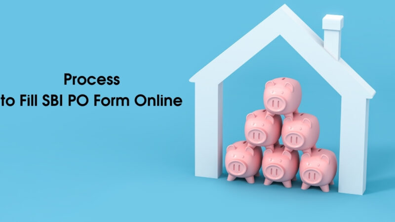 Process to Fill SBI PO Form Online
