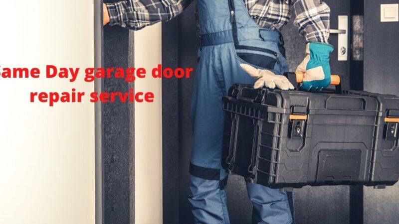 Same Day garage door repair service in Garden Grove CA