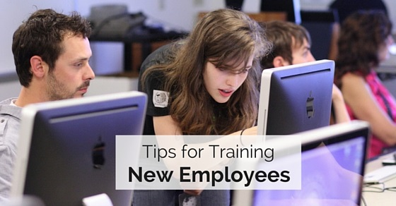 4 Tips for Training a New Hire