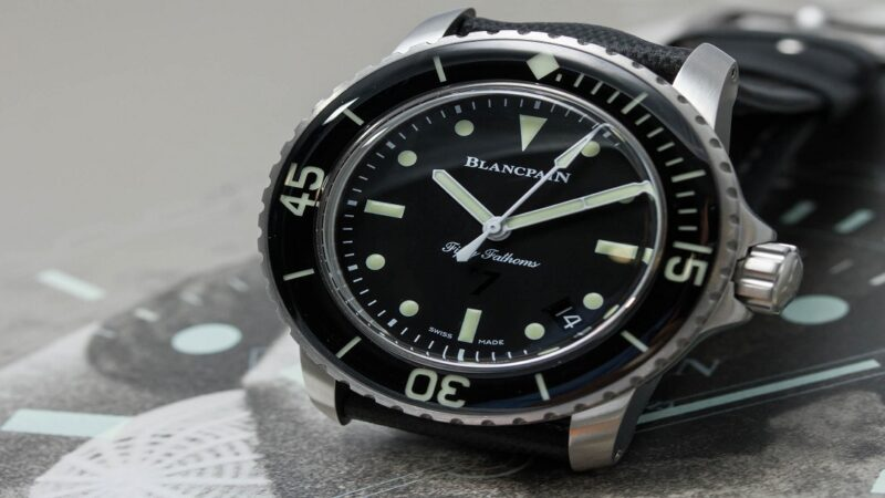 Top Watches In The Blancpain Fifty Fathoms
