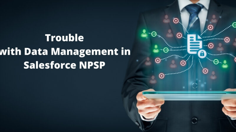 Trouble with Data Management in Salesforce NPSP? Here Are 4 Software Solutions To Help!