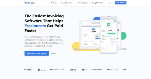WeInvoice Review: A Must-Have to Get Free Invoice Templates