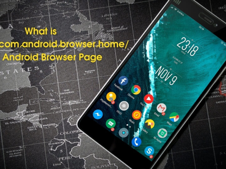 What is content://com.android.browser.home/ and Android Browser Page