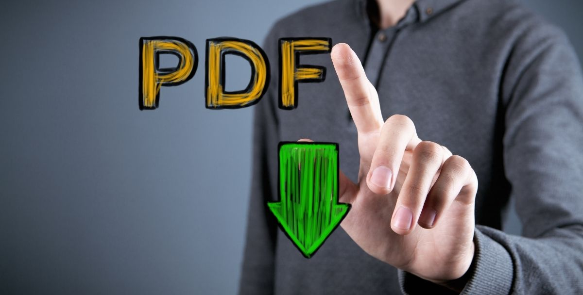 Why is JPG is better than PDF for Online Posting?