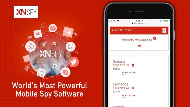 XNSPY App for Secret Monitoring