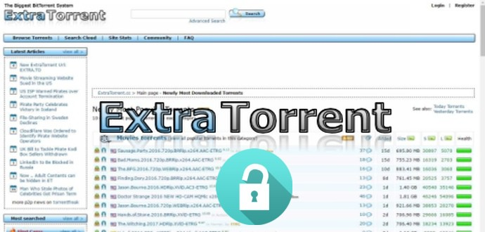 Best Top 10 Extra Torrent Alternatives And 10 Mirror Sites