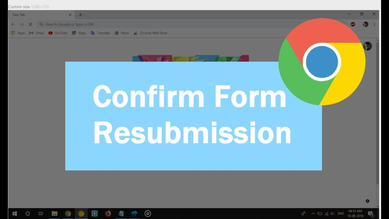 Best way to fix form resubmission issue