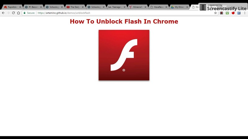 Many ways on how to unblock adobe flash player