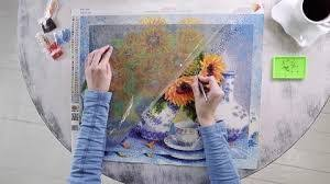 How to start making a diamond painting
