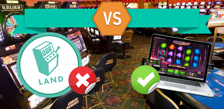 Huge fan of gambling? Here are some reasons why online gambling dominate over land based casinos