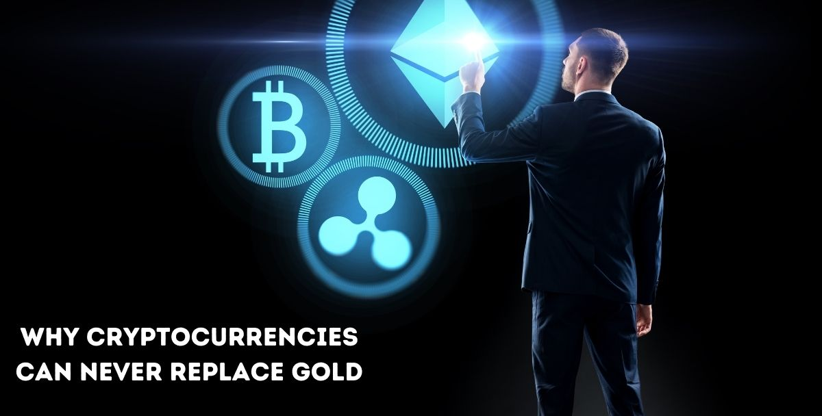 Bitcoin: Why cryptocurrencies can never replace gold?