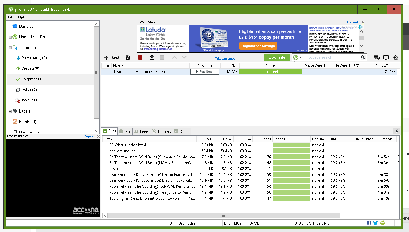 Meaning And What is seeding in uTorrent